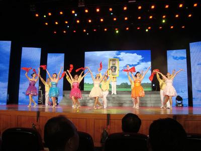 """我司参加""""广东个私协会系统庆祝党成立90周.文艺汇演""""演出-优美的舞姿展现了我司的精神风貌"""
