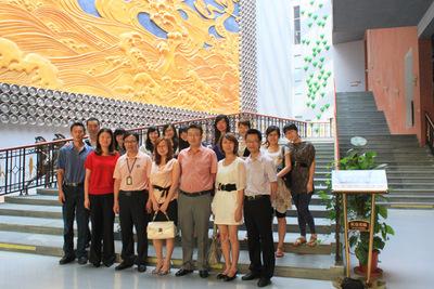 集团企业文化协会参观珠江芠撇┪锕